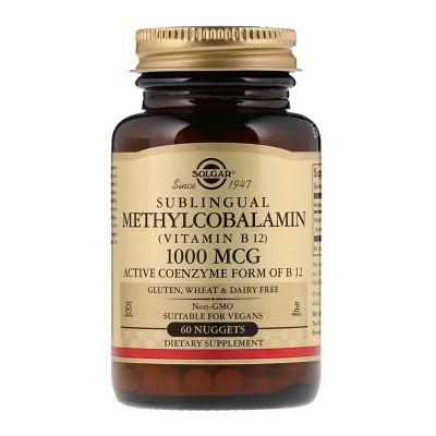 SOLGAR Methylcobalamin 1000µg tbl a30