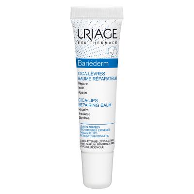 URIAGE Bariéderm Cica lips repair balzam 15ml