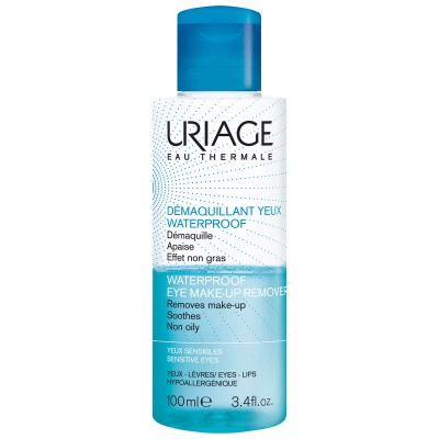 URIAGE Dvofazni čistač vodootporne šminke za oči i usne 100ml