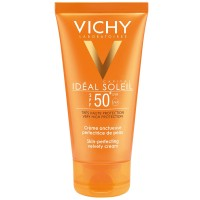 VICHY Capital Soleil Baršunasta krema za ljepši izgled kože SPF50+ 50ml