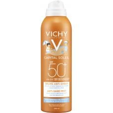 VICHY Capital Soleil Dječji sprej protiv priljepljivanja pijeska na kožu SPF50+ 200ml