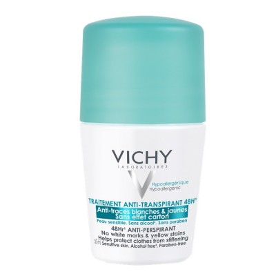 VICHY Deo roll-on regulacija znojenja 48h bez tragova