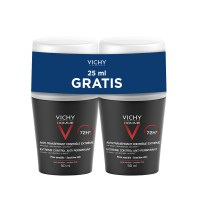 VICHY HOMME Deo roll-on za regulaciju znojenja DUO PACK