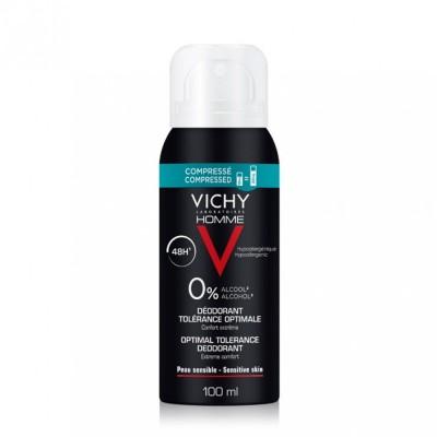VICHY HOMME Dezodorans optimalne tolerancije 100ml