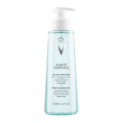 VICHY Purete Thermale Svježi gel za čišćenje osjetljive kože 200ml
