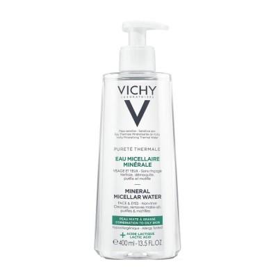 VICHY Purete Thermale Micelarna voda masna koža 400ml