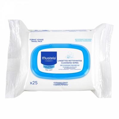 Mustela Bébé Maramice za čišćenje lica 25kom