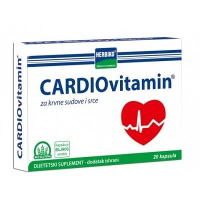 Cardiovitamin ® kapsule 20