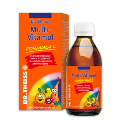 Dr.Theiss multivitamol sirup 6+ 200ml