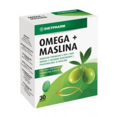 Omega + maslina cps. A30