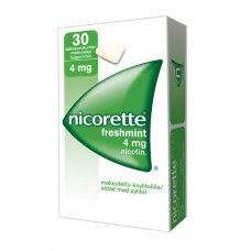 Nicorette mint tbl. za žvakanje 30x4mg