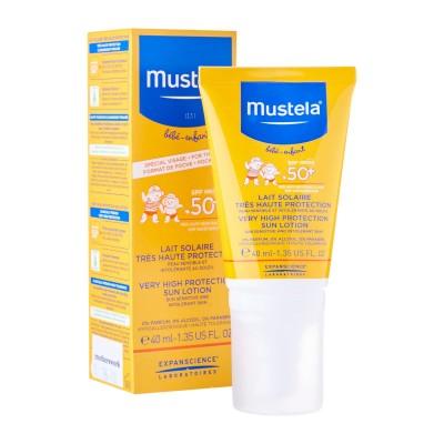 Mustela Sun krema za lice SPF50+ 40ml