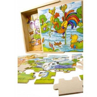 PINO Puzzle vesele životinje