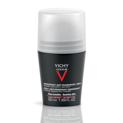 VICHY HOMME Deo roll-on za regulaciju znojenja