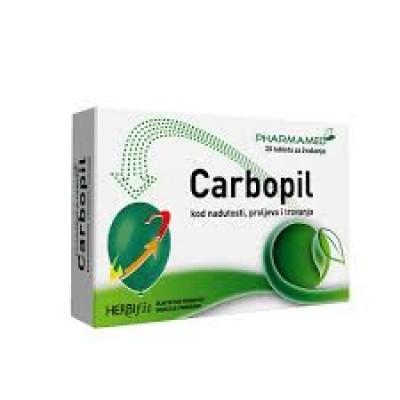 PH Carbopil tbl. za žvakanje A30