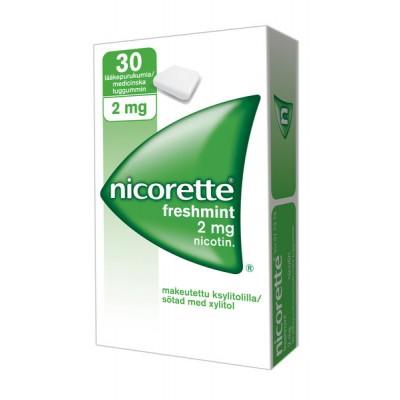 Nicorette mint tbl. za žvakanje 20x2mg