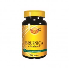 NW Brusnica cps. vit.C A100