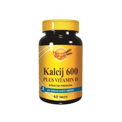 NW CA-600 +D vitamin tbl. A60