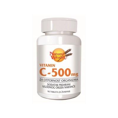 NW Vitamin C - 500 tbl. za žvakanje A90