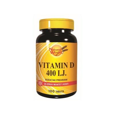 NW Vitamin D 400 IU tbl. A100