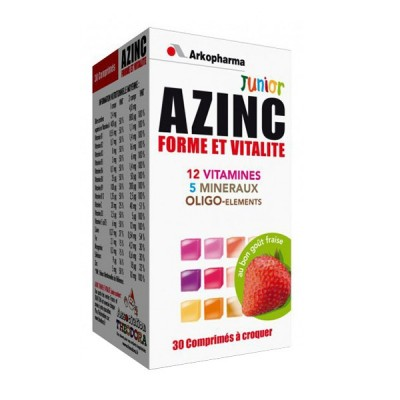 Arko azinc junior 12 vit. + min + oligo jagoda A30