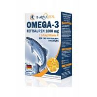 Omega-3 1000mg + 12mg vitamin E cps A100