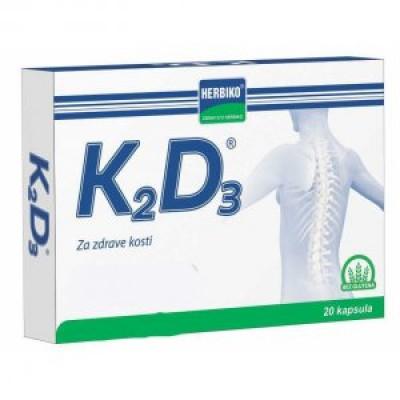 Herbiko® K2D3 kapsule