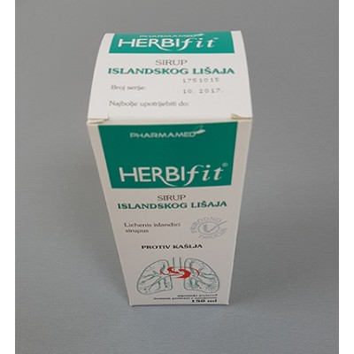 PH Herbifit sirup islandski lišaj 150ml