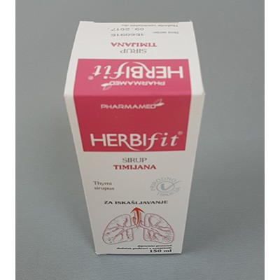 PH Herbifit sirup timijan 150ml