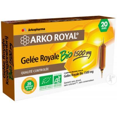 Arko royal gelee royale bio 1500mg 20x15ml