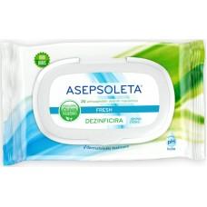 Asepsoleta fresh  vlažne maramice A20
