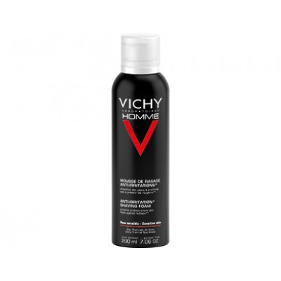 VICHY HOMME pjena za brijanje protiv iritacije kože 200ml