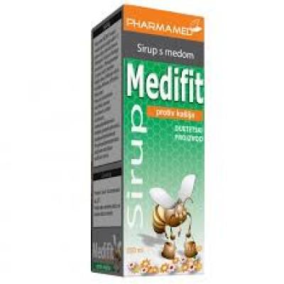 Medifit sirup s medom za iskašljavanje 200ml
