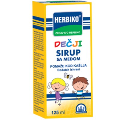 Herbiko® sirup za djecu sa medom 125ml