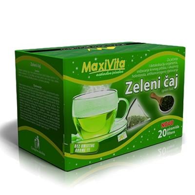 Zeleni čaj 40g MAXIVITA